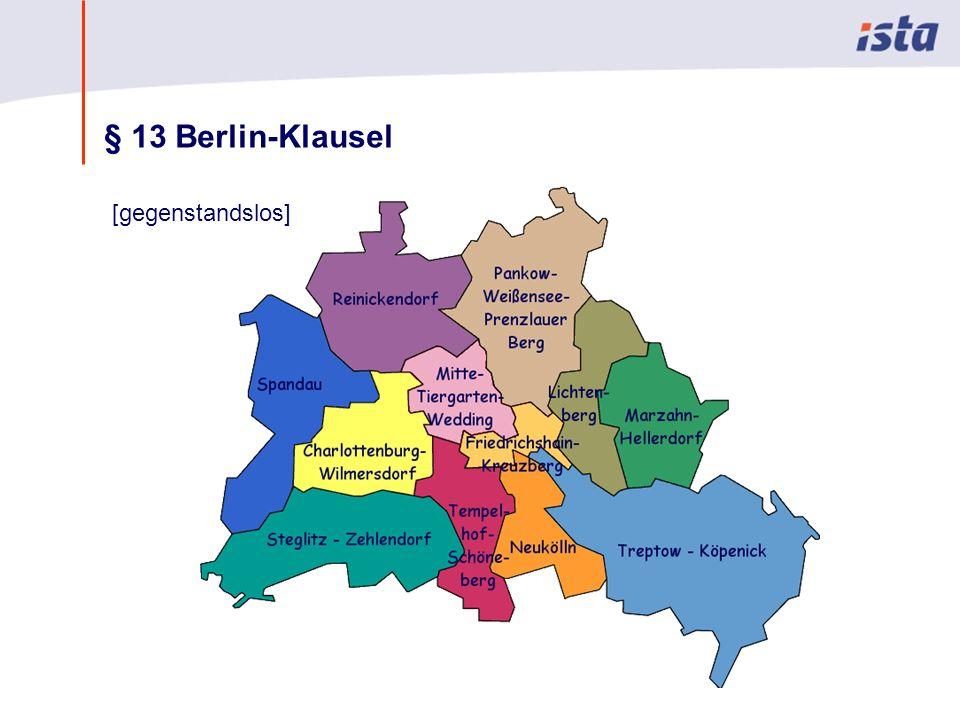 § 13 Berlin-Klausel [gegenstandslos]